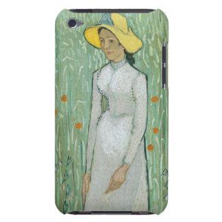 Étui Barely There iPod Fille de Vincent van Gogh   dans le blanc, 1890