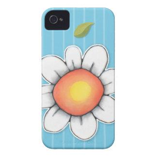Étui de cartes bleu de l'iPhone 4/4S ID/Credit de  Coques iPhone 4
