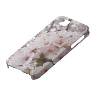 Étui de cartes de l'iPhone 5 ID/Credit des fleurs Coque iPhone 5