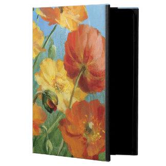 Étui iPad Air Champ floral d'été