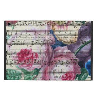 Étui iPad Air Chansons florales