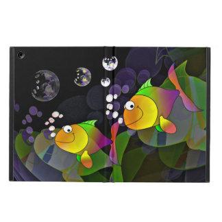 Étui iPad Air Deux poissons dans une cuvette