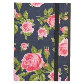 Étui iPad Air Impression florale vintage Girly de roses