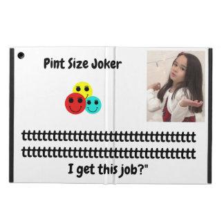 Étui iPad Air Joker de taille de pinte : Le père noël travaille