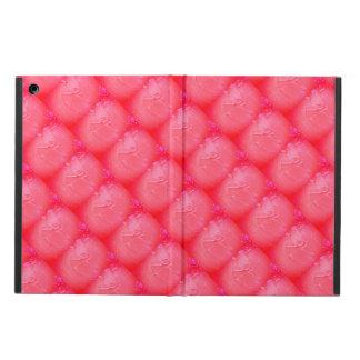 Étui iPad Air La peinture rose couvre de tuiles la caisse d'air