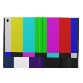 Étui iPad Air La TV barre l'essai de couleur