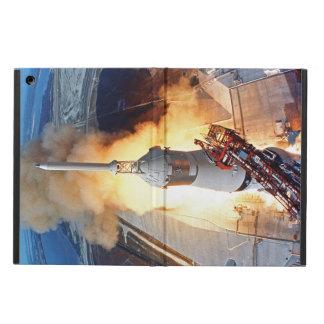 Étui iPad Air Lancement de Rocket d'alunissage de la NASA Apollo