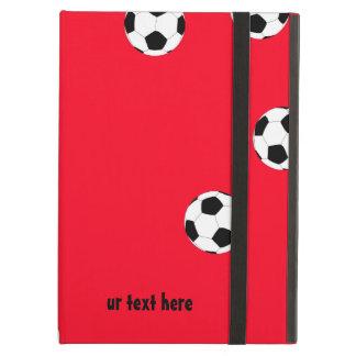 Étui iPad Air Le football heureux par Happy Juul Company