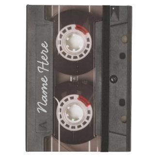 Étui iPad Air Monogramme vintage de cassette de bande des années
