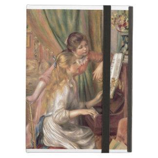 Étui iPad Air Pierre jeunes filles de Renoir un | au piano