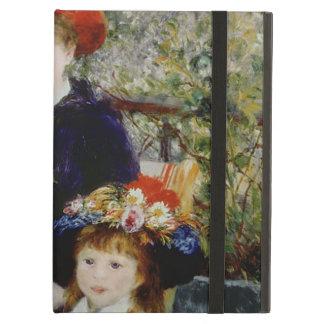 Étui iPad Air Pierre un Renoir | deux soeurs, ou sur la terrasse