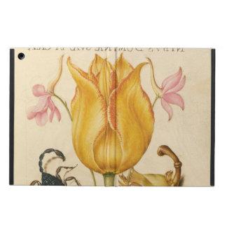 Étui iPad Air Scorpion jaune de tulipe