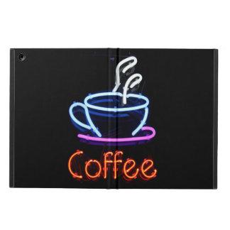 Étui iPad Air Signe au néon de café