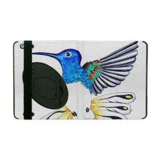 Étui iPad Art mignon de colibri