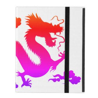 Étui iPad cas de l'iPad 2/3/4 sans Kickstand AVEC LE DRAGON