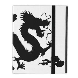 Étui iPad cas de l'iPad 2/3/4 sans Kickstand w/dragon