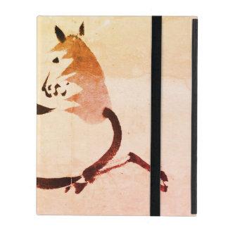 Étui iPad cas de l'iPad 2/3/4 sans le cheval de Chinois de