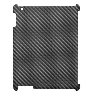 Étui iPad Cas d'iPad de la fibre 2 de carbone mini