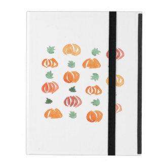 Étui iPad Citrouilles avec le cas de l'iPad 2/3/4 de feuille