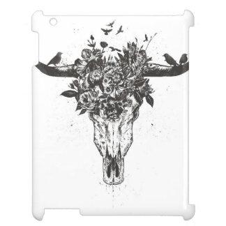 Étui iPad Été mort (noir et blanc)