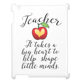 Étui iPad Grand coeur à aider à former le petit professeur