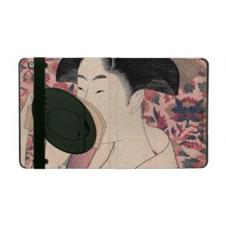 Étui iPad La beauté orientale, Kushi par Kitagawa Utamaro