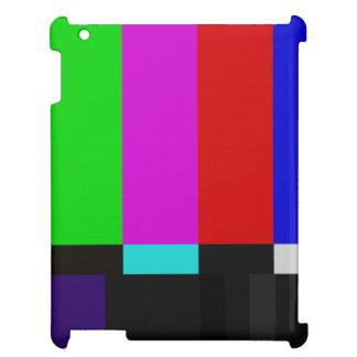 Étui iPad La TV barre l'essai de couleur