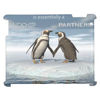 Étui iPad L'amitié est essentailly une association