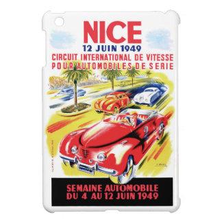Étui iPad Mini Affiche de course d'automobile de circuit de 1949