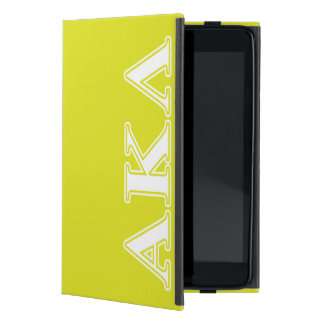 Étui iPad Mini Alpha lettres de pourpre du Kappa lambda