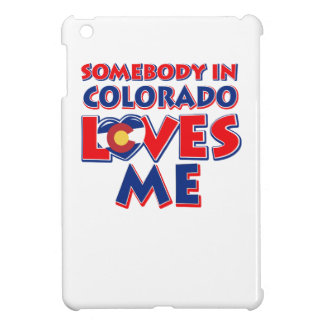 Étui iPad Mini amour du Colorado