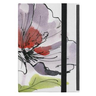 Étui iPad Mini Arrière - plan floral peint par résumé 3