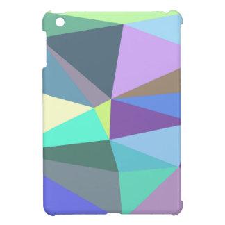 Étui iPad Mini Arrière - plan géométrique iridescent