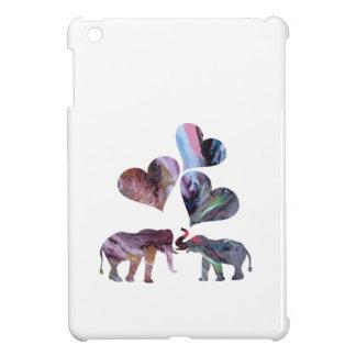 Étui iPad Mini art d'éléphants