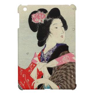 Étui iPad Mini Art japonais de Madame Suzuki Kason Sakura Japon