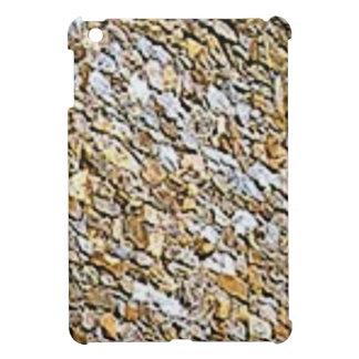 Étui iPad Mini art léger bronzage de gravier