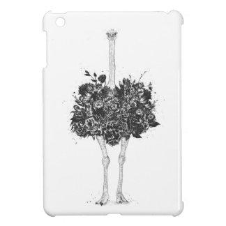 Étui iPad Mini Autruche florale