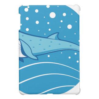 Étui iPad Mini Baleine bleue