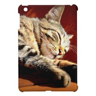 Étui iPad Mini Beau chat tigré