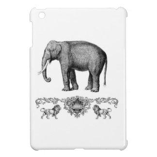 Étui iPad Mini bête grise d'éléphant