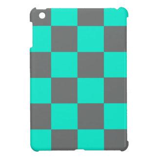 Étui iPad Mini Blocs au néon de bleu