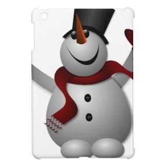 Étui iPad Mini bonhomme de neige