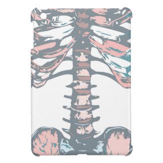 Étui iPad Mini Cage thoracique colorée