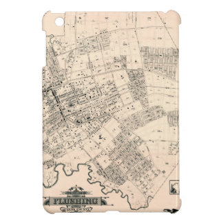 Étui iPad Mini Carte vintage de rincer New York 1894