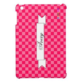 Étui iPad Mini Cas   dur brillant de HAMbyWG - neige fondue rose