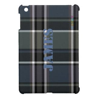 Étui iPad Mini Cas   dur brillant de HAMbyWG - sauge du plaid W