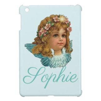 Étui iPad Mini Cherubine vintage/victorien/ange Personnalised