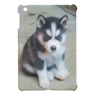 Étui iPad Mini Chiot de chien de traîneau sibérien