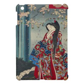 Étui iPad Mini Classique japonais de cool d'art de Madame Japon