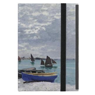 Étui iPad Mini Claude Monet | la plage chez Sainte-Adresse